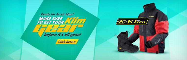 Are you ready for Arctic Man? Make sure to get your Klim gear before it's all gone!
