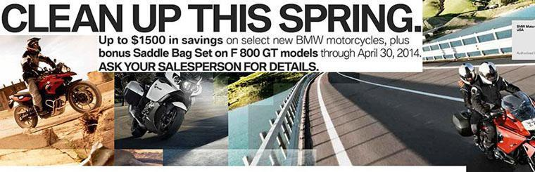 BMW Clean Up This Spring