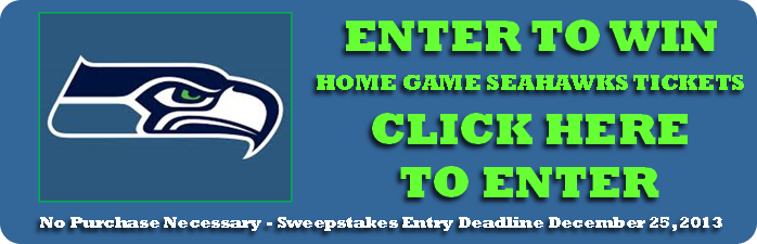 Win Free Home Game Tickets! Seahawk's Biggest Fan Contest
