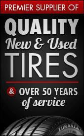 Premier supplier of quality tires - new & used - and services for over 50 years.
