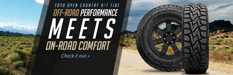 Toyo Open Country R/T Tire: Click here for details.