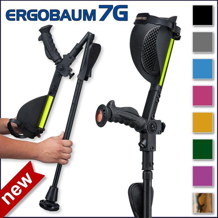 Forearm crutch adult