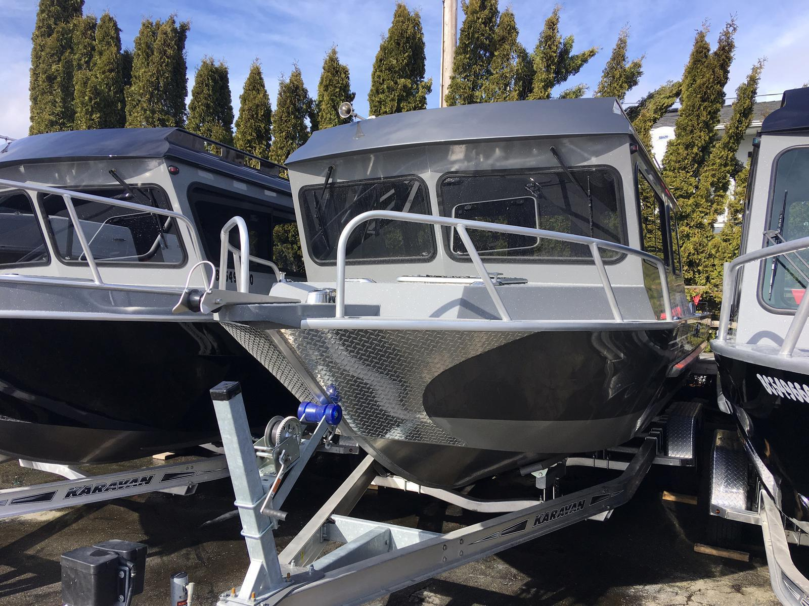 Aluminum Boats For Sale Bc >> 2017 Rh Aluminum Boats 22 Sea Hawk Pro Cuddy
