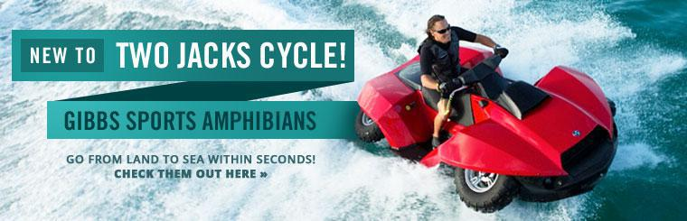 Gibbs Sports Amphibians: Go from land to sea within seconds! Click here to check them out online.