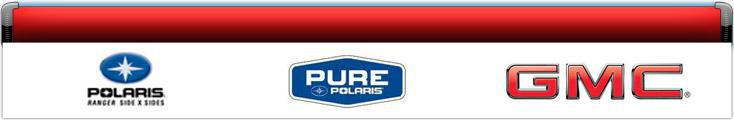 We proudly offer products from Polaris®, Pure Polaris®, GMC®