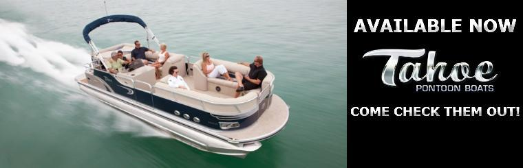 TAHOE PONTOONS: AVAILABLE NOW!