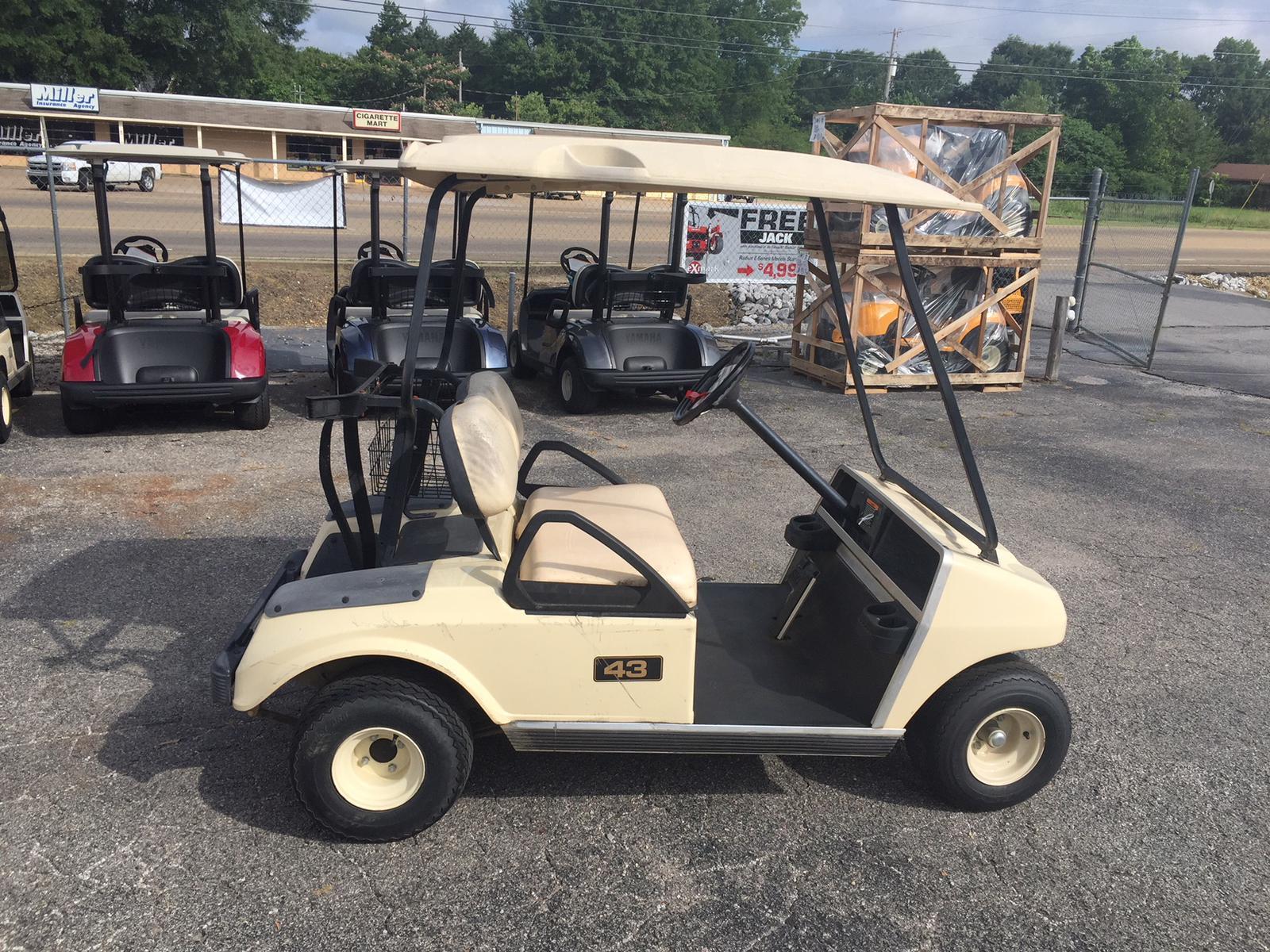Club Car Used 2002 Club Car Golf Cart Gas For Sale In Corinth Ms
