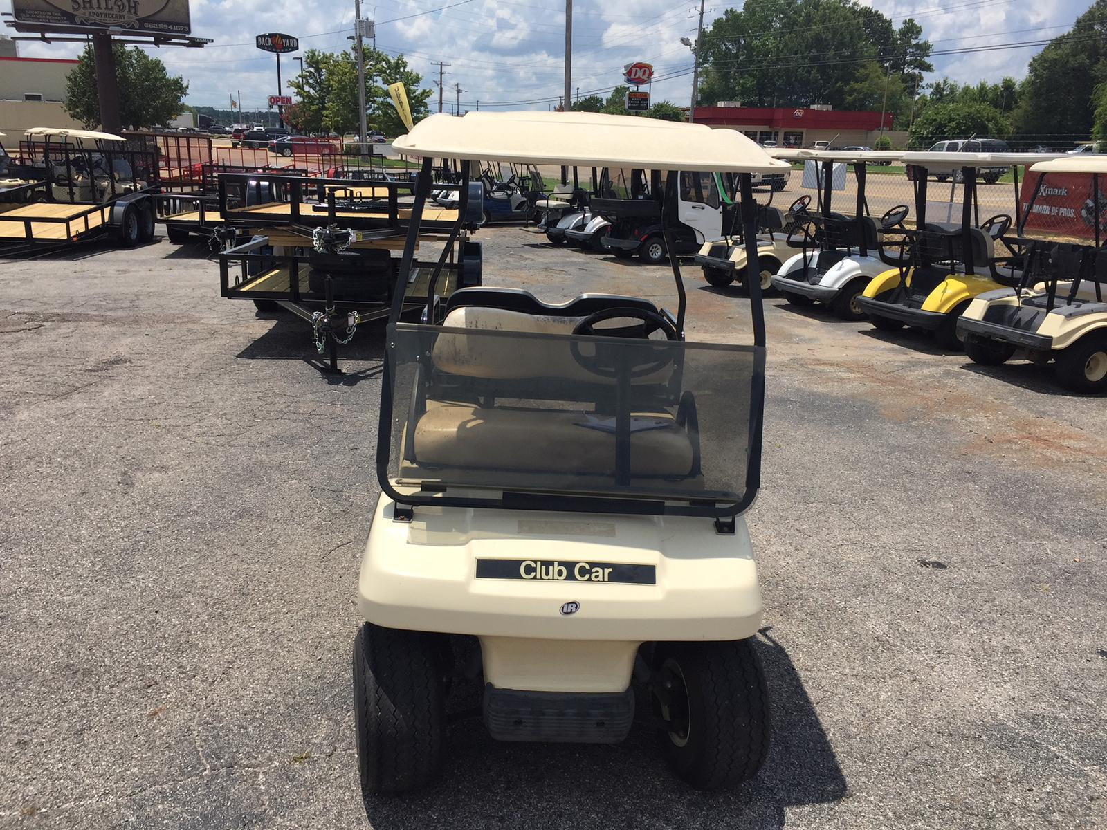 Club Car USED 2002 Golf Cart With Back Seat Gas For Sale