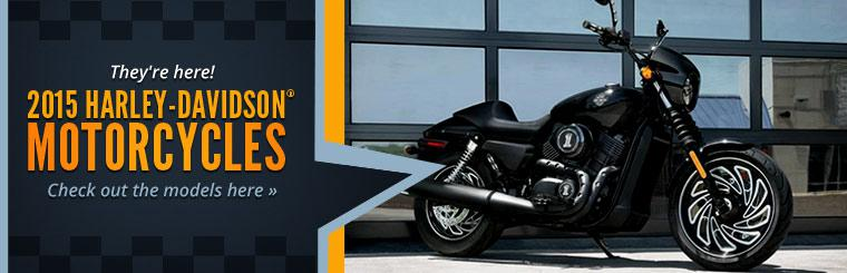 2015 Harley-Davidson® Motorcycles: Click here to check out the models.