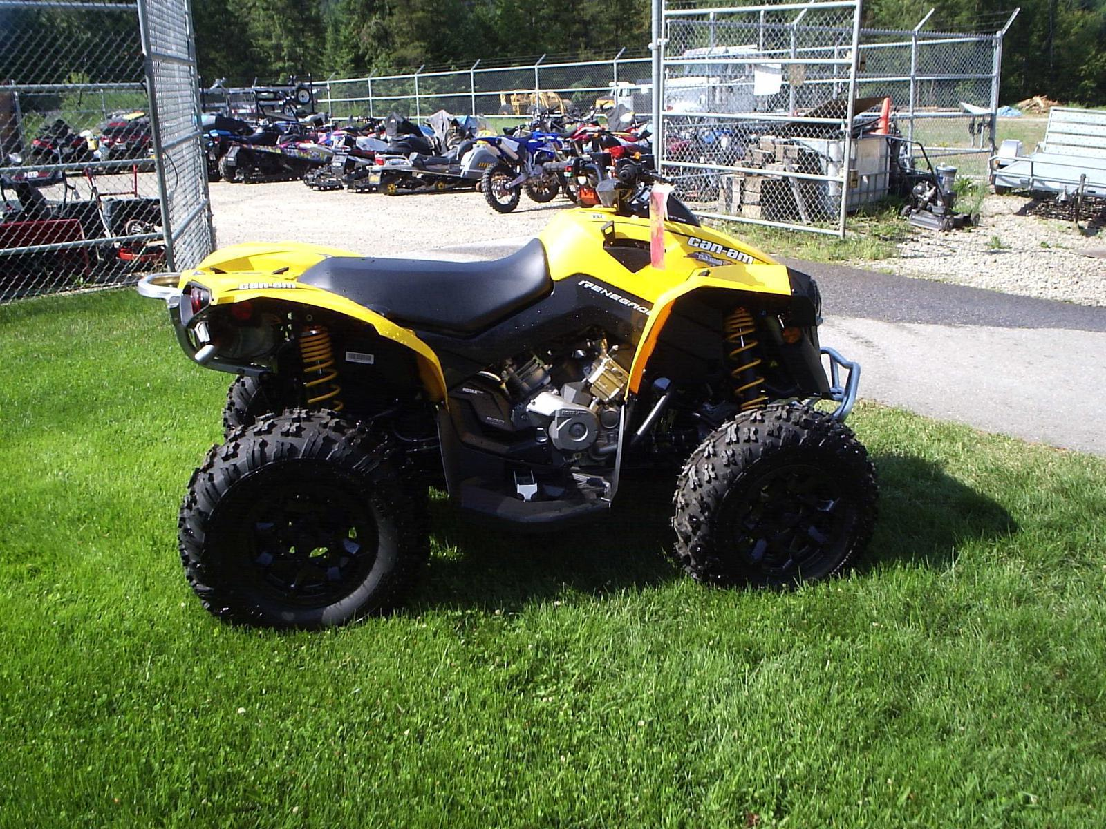 Can Am Renegade For Sale >> 2015 Can Am Renegade 500