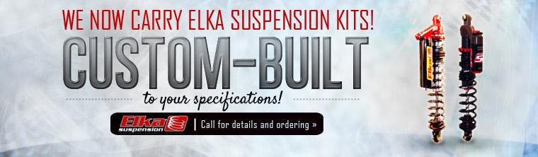 We now carry Elka Suspension Kits and can custom-build them to your specifications! Click here to contact us for details.