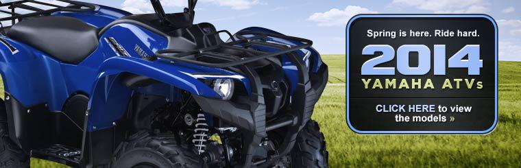 2014 Yamaha ATVs: Click here to view the models.