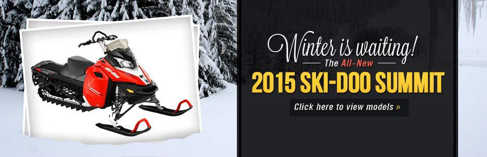 2015 Ski-Doo Summit Snowmobiles: Click here to view the models.