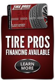 Tire Pros Financing Available for Tires and Automotive Service