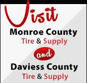 Visit Monroe County Tire & Supply and Davies County Tire & Supply
