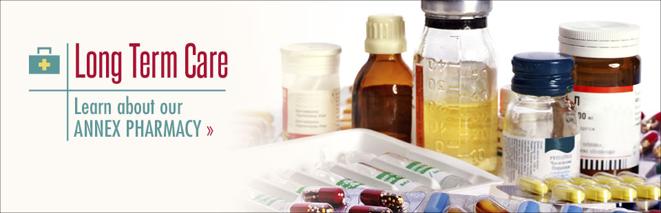 Click here to learn more about our Annex Pharmacy!