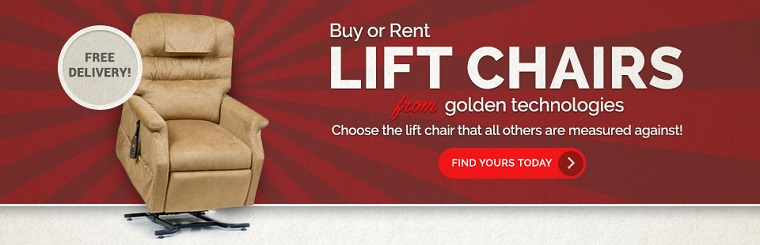 Click here to view lift chairs from Golden Technologies.