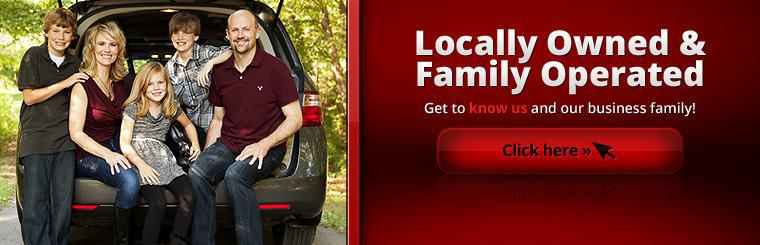 Babcock Auto Care is locally owned and family operated. Click here to get to know us and our business family!