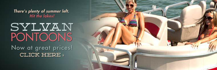 2014 Sylvan Pontoons: Click here to view the models.