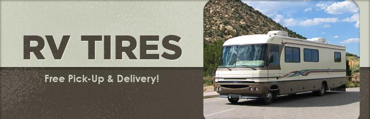 We offer free pick-up and delivery with RV repair! Click here to contact us for details.