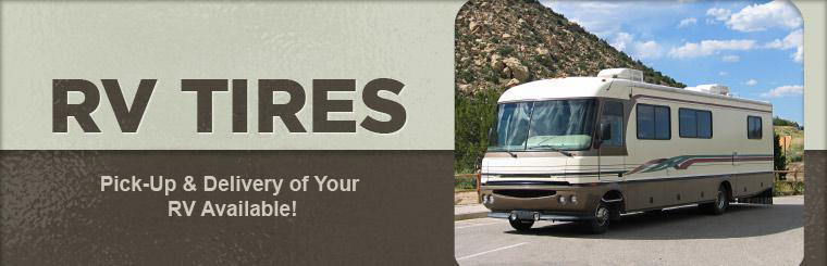We offer pick-up and delivery with RV repair! Click here to contact us for details.