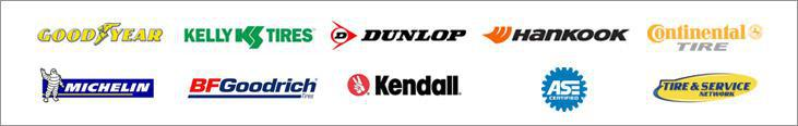 We carry products from Goodyear, Kelly, Dunlop, Hankook, Continental, Michelin®, BFGoodrich®, and Kendall. We are ASE certified and part of the Tire Service Network.