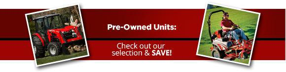 Pre-Owned Units: Check out our selection & save!