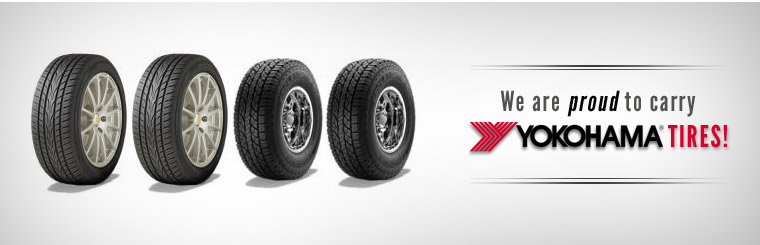 We are proud to carry Yokohama tires!