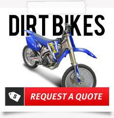 Request a quote for your used dirt bike