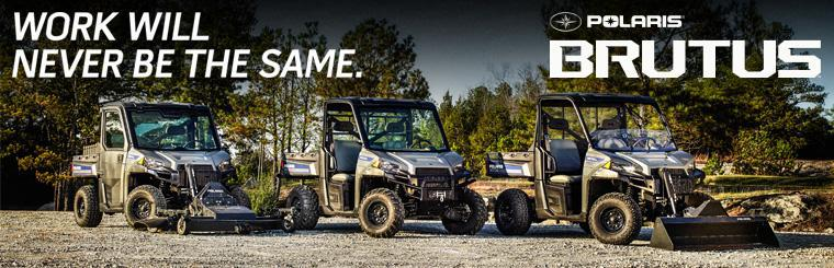 Brutus ATV Commercial Vehicles by Polaris Industries