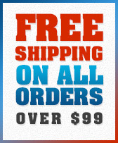 Free Shipping On All Orders Over $99.