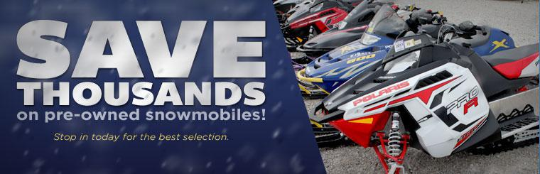 Pre Owned Snowmobile Blowout