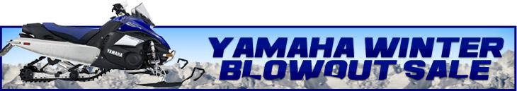 Yamaha Winter Blowout Sale