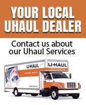 Contact us about our Uhaul Services