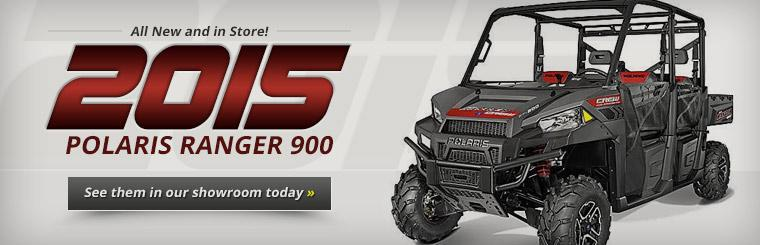 2015 Polaris Ranger 900: Click here to view the models.