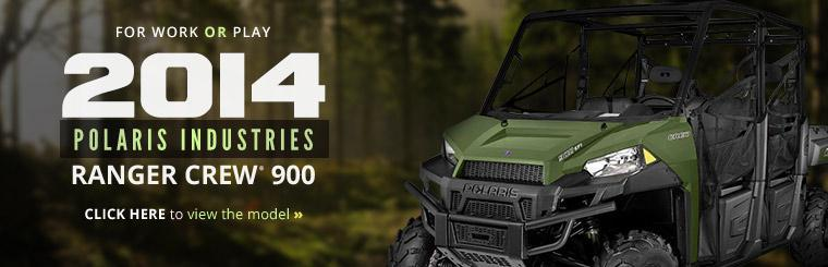 2014 Polaris Industries Ranger Crew® 900: Click here to view the model.