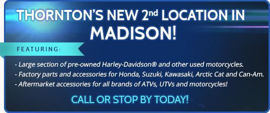 Thornton's New 2nd Location in Madison!