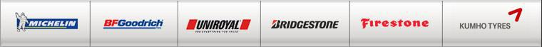 We carry products from Michelin®, BFGoodrich®, Uniroyal®, Bridgestone, Firestone, and Kumho.