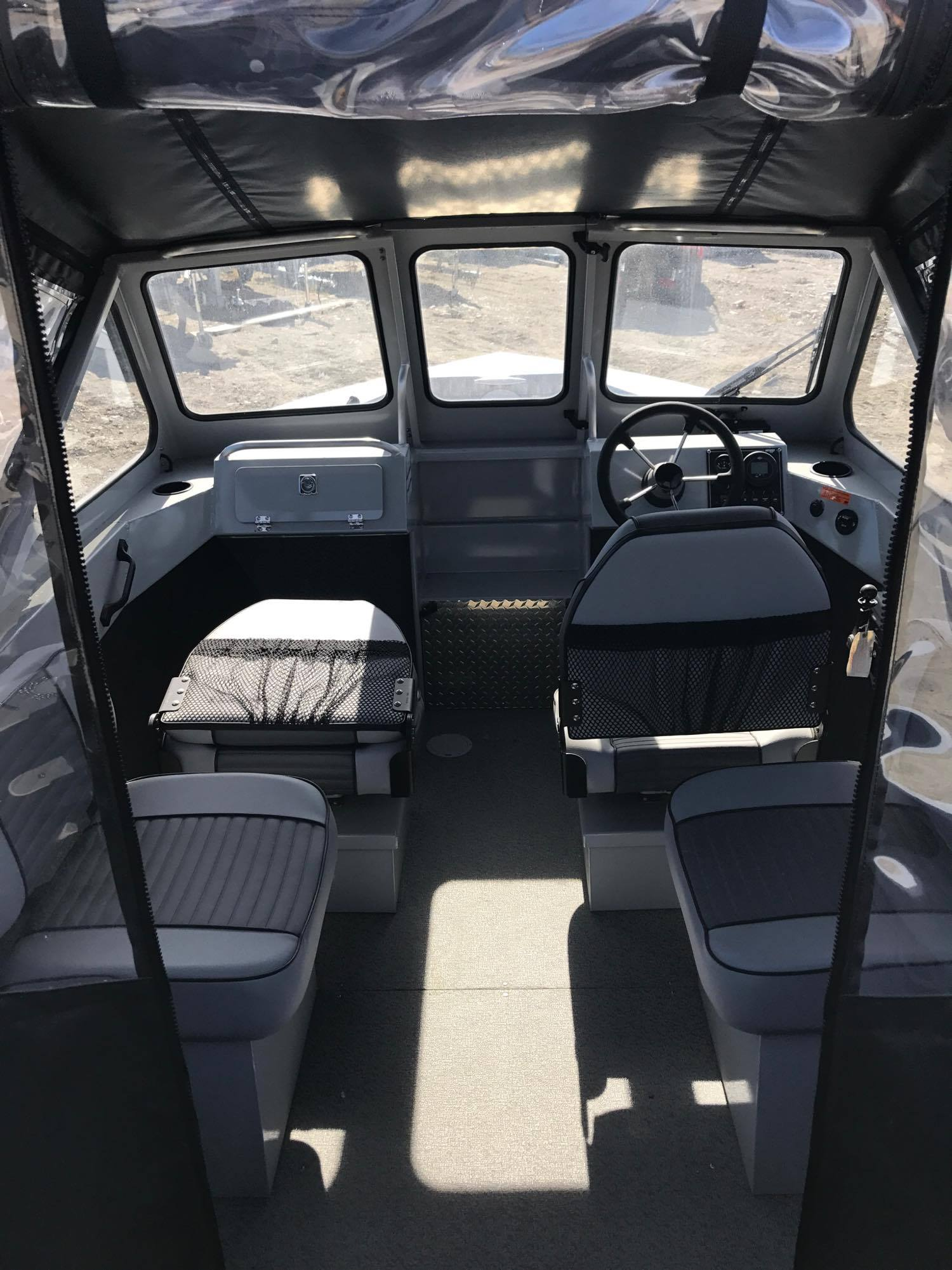 Hewes Craft 2018 -DEMO- 190 Sea Runner, w/ Extended Transom - Extras, 9 9HP  Kicker, Scotty Down Riggers (2), VHF, Garmin GPS/Sounder