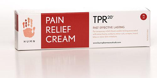 TPR20 Pain Relief Cream