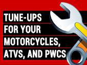 Tune-Ups for Your Motorcycles, ATVs, and PWCs