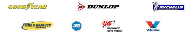 We carry products from Goodyear, Dunlop, Michelin®, and Valvoline. We are a Tire & Service Network location. Our technicians are ASE certified. We are affiliated with AAA.