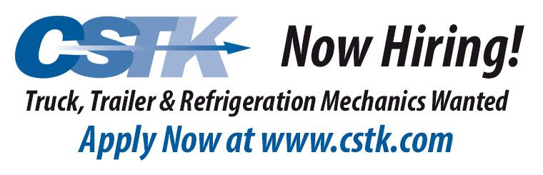 CSTK Hiring Truck Trailer Refrigeration Repair Technicians All Locations St. Louis Philadelphia Kansas City Oklahoma City Allentown Bethlehem Pennsylvania Wichita Kansas Missouri
