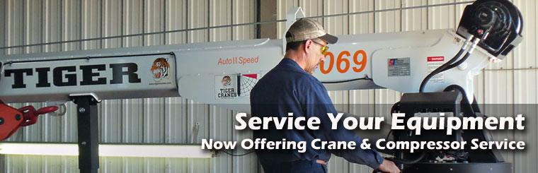 Crane Compressor Truck Service Repair Maintenance