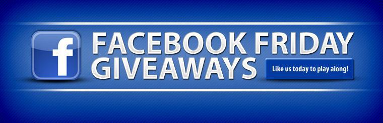 Like us today to play along with our Facebook Friday Giveaways!