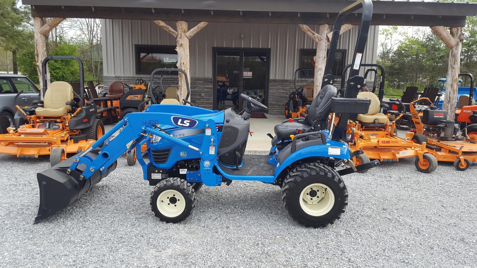 LS Tractor MT125