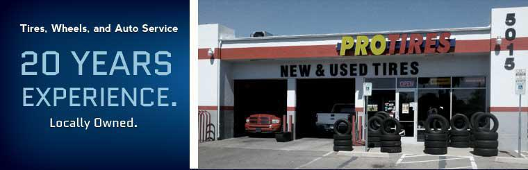 Tires, Wheels, and Auto Service: We are locally owned with 20 years of experience!
