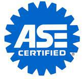 Our technicians are ASE Certified.