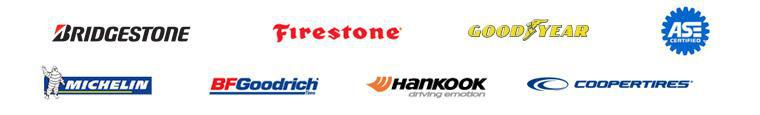 We proudly offer products from Bridgestone, Firestone, Goodyear, Michelin®, BFGoodrich®, Hankook and Cooper. We are ASE certified.