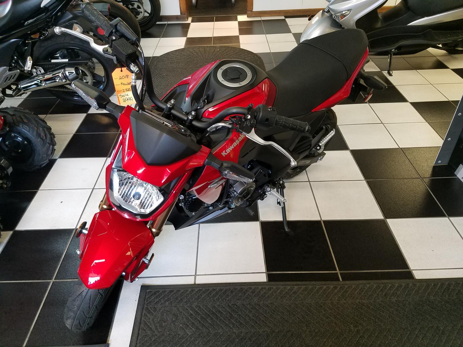 2018 Kawasaki Z125 Pro For Sale In Bridgeport Wv Leesons Import